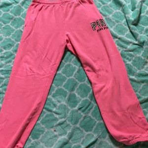 Victoria's Secret Pink Campus Sweatpants  Medium